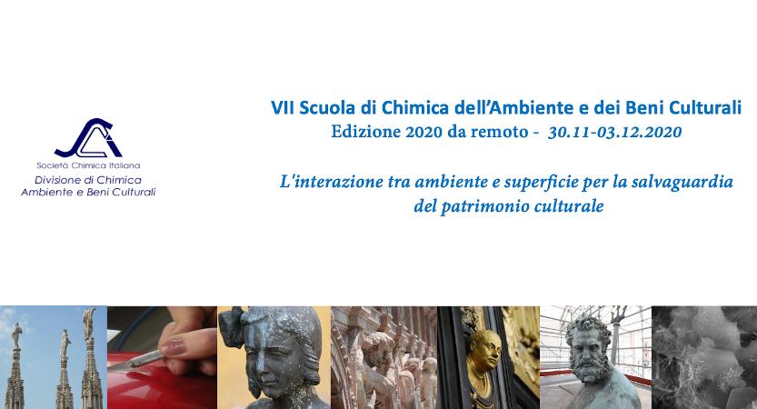 VII Scuola Nazionale di Chimica dell'Ambiente e dei Beni Culturali